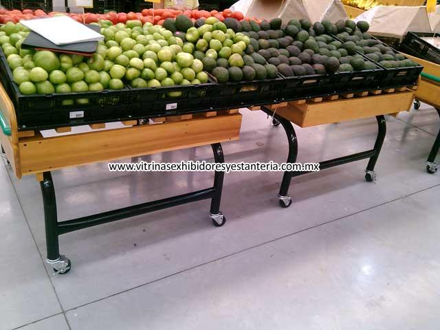 Muebles para tiendas departamentales - Muebles para frutas ...